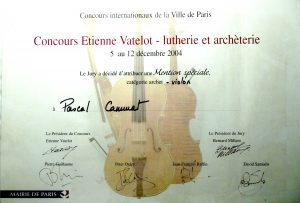 Paris 2004 violon